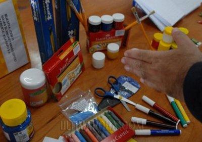 Fallido intento de robo de kits escolares