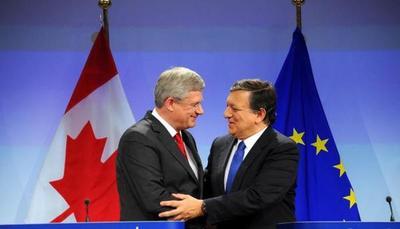 Aprueban tratado de libre comercio entre UE y Canadá
