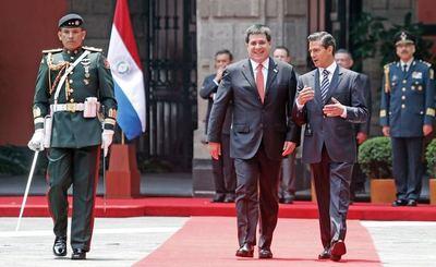 Definen detalles para la visita del presidente mexicano a Paraguay