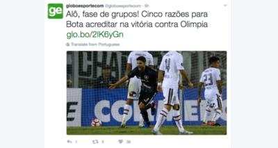 ¿El Botafogo ya tiene la clasificación asegurada?