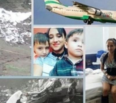 Azafata del vuelo de Chapecoense: Con secuelas y sin dinero