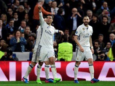 Real Madrid superó al Napoli