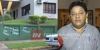 DIRECTOR DE LA CASA DE LA VICTORIA REPUDIA VANDALISMO EN LOS  MUROS