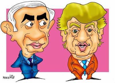 """Netanyahu felicitó a Donald Trump, """"un verdadero amigo de Israel"""""""