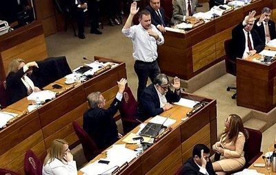 Senadores reeleccionistas buscan anular sesión para aprobar plan de enmienda