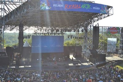 Festival copa anfiteatro de San Bernardino