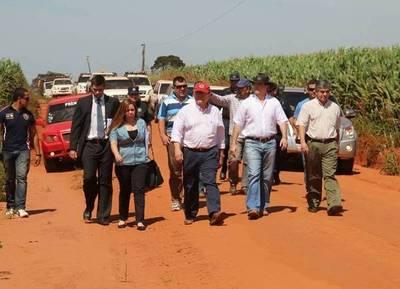 Justo Cárdenas respondió a grandes productores que se manifestaron en Alto Paraná