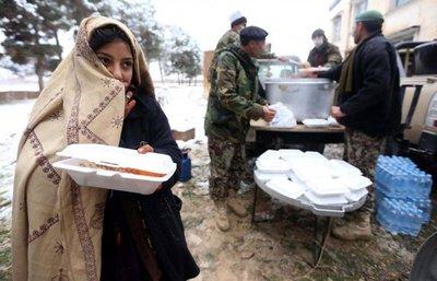 Al menos 30 personas mueren por temporal de nieve en Afganistán