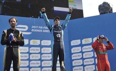 Sébastien Buemi triunfa en el GP de Buenos Aires