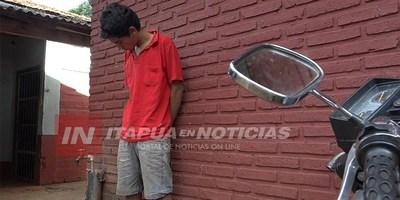 TRAS RONDA DE TRAGOS ROBÓ LA MOTO DE SU AMIGO