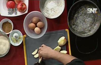 La cocina de La Mañana: Torta invertida de manzana