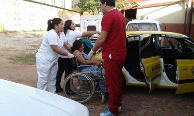 Joven madre dio a luz en un taxi en Areguá
