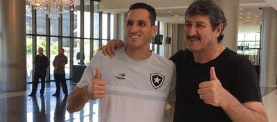 Gatito Fernández está repuesto y podría jugar ante Olimpia
