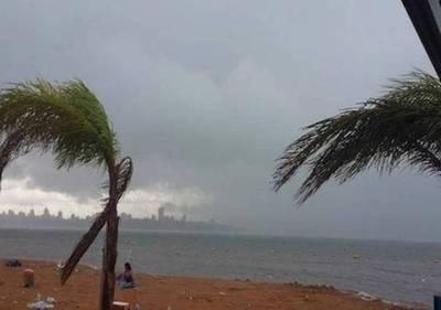 Anuncian tormentas para 14 departamentos
