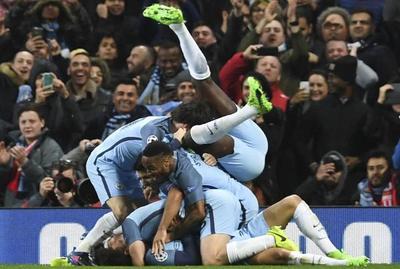 Mánchester City debió remontar ante el Mónaco en Champions