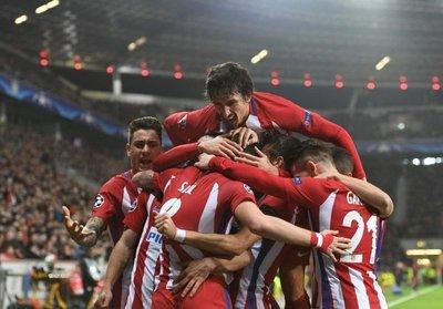 Atlético de Madrid se queda con la ida