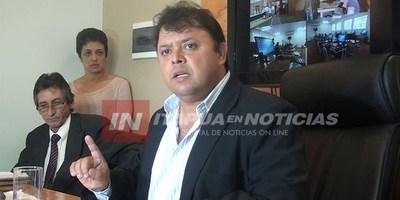 MAIDANA SE PRESENTARÁ ANTE EL MINISTERIO PÚBLICO PARA SER INVESTIGADO.