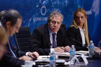 El jefe de la OEA pide elecciones generales anticipadas en Venezuela