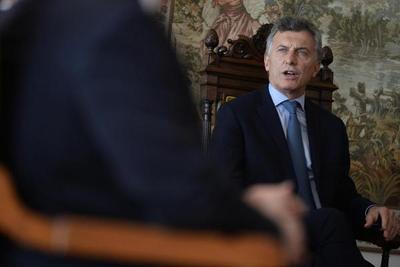 """Macri aboga por darle """"tiempo"""" a Trump"""
