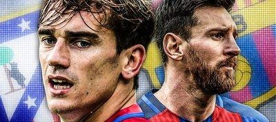 Atlético de Madrid y Barcelona, partido a pura presión