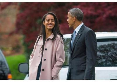 Obama asiste con su hija mayor a la representación en Broadway The Price