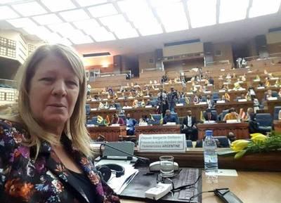 Diputada de Argentina fue nombrada Presidenta de Parlamentarios para la Acción Global