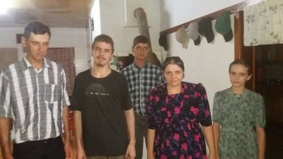 Una familia que nunca perdió la fe