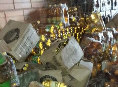 Incautan productos de contrabando