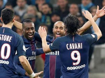PSG aplasta al Marsella en el clásico