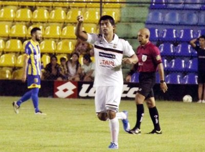 Deportivo Capiatá 1-2 General Díaz. Foto: Prensa APF