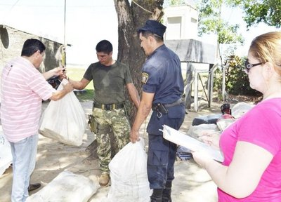 Decomisan carga de 841 kilos de marihuana en zona de Ñeembucú