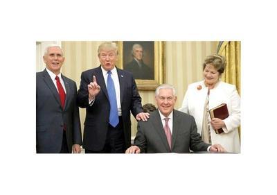 Departamento de Estado, nervioso e ignorado por la Casa Blanca de Trump