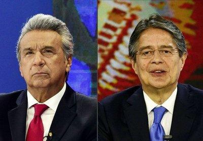 Opositor ganaría presidencia en Ecuador en el balotaje