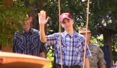 DIERON GRACIAS A DIOS: Franz Wiebe ya está sano y salvo en casa de sus padres