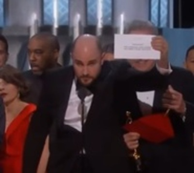La enorme pifia en la entrega del Oscar a la mejor película