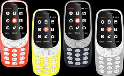 """Regresa el """"indestructible"""" Nokia 3310"""