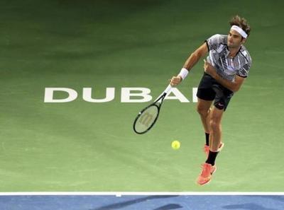 Federer arrancó con todo el ATP de Dubai