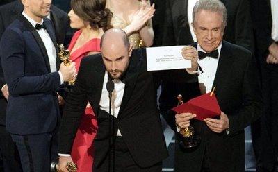 Un Óscar que será recordado por error en la última premiación