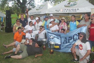 Club Pirayu de Formosa gana concurso en Villa Oliva