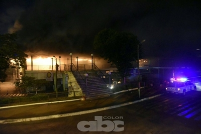 Infierno en la Terminal de Asunción