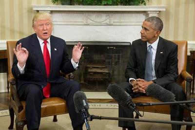 Trump acusa a Obama de pinchar su teléfono