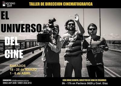 Curso de dirección cinematográfica con Jorge Bedoya