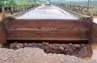 Vuelven a habilitar puente en Tavaí