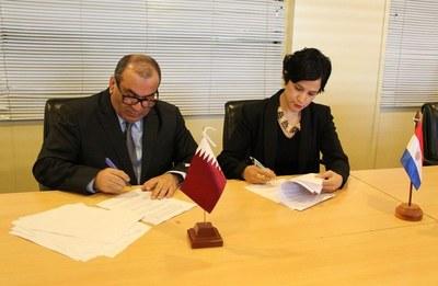 Paraguay y Qatar tratan de evitar doble tributación a través de acuerdo