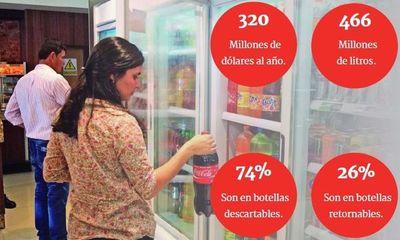 Paraguayos consumen 1,2 millones de litros de gaseosas al día
