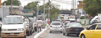 A 11 Km por hora se ingresa a Asunción