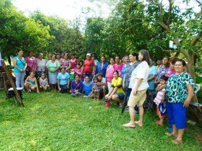 Organizaciones de mujeres cuentan con una casa de semillas