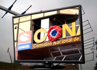 Conatel continúa proceso de licitación de canales de TV digital
