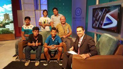 Jóvenes del programa Painac  visitaron medios estatales