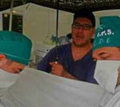 Sumario para médicos que operaron con paraguas